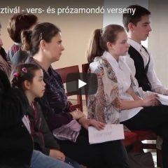 Marosmenti Fesztivál. Vers- és prózamondó verseny