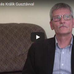 Portrébeszélgetés Králik Gusztávval