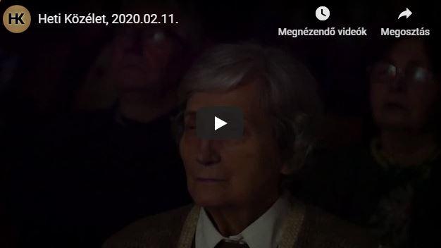 Heti Közélet, 2020.02.11.